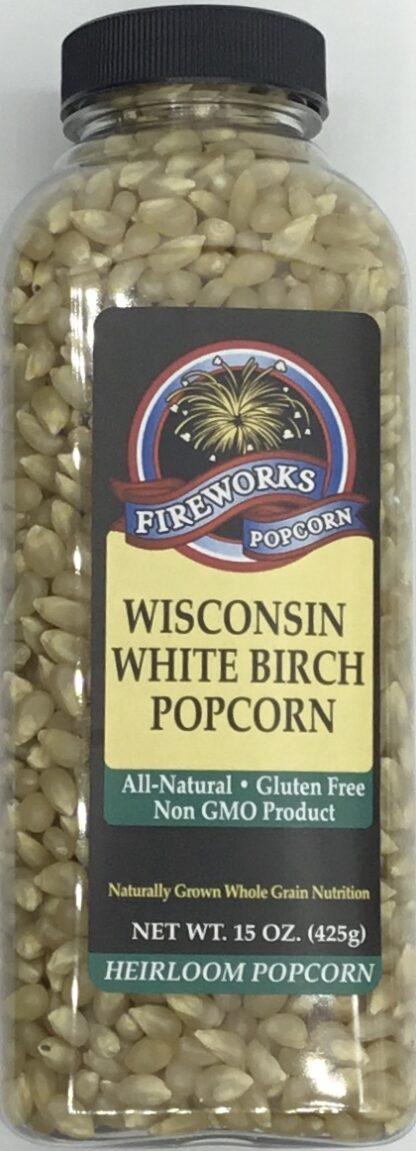 Fireworks Wisconsin White Popcorn Kernels